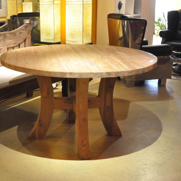 stanley ist eines der runden teakholz tisch modelle von. Black Bedroom Furniture Sets. Home Design Ideas