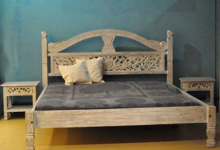 Bed Romance White