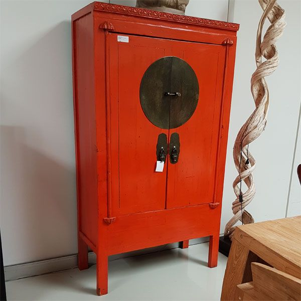 Wedding Cabinet Orange